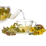 Teas, medicinal herbs, Healthy eating