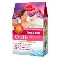 Гималайская розовая соль для ванн антицеллюлитная