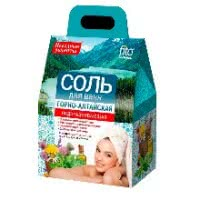 Sare pentru băile de munte - Altai revitalizează