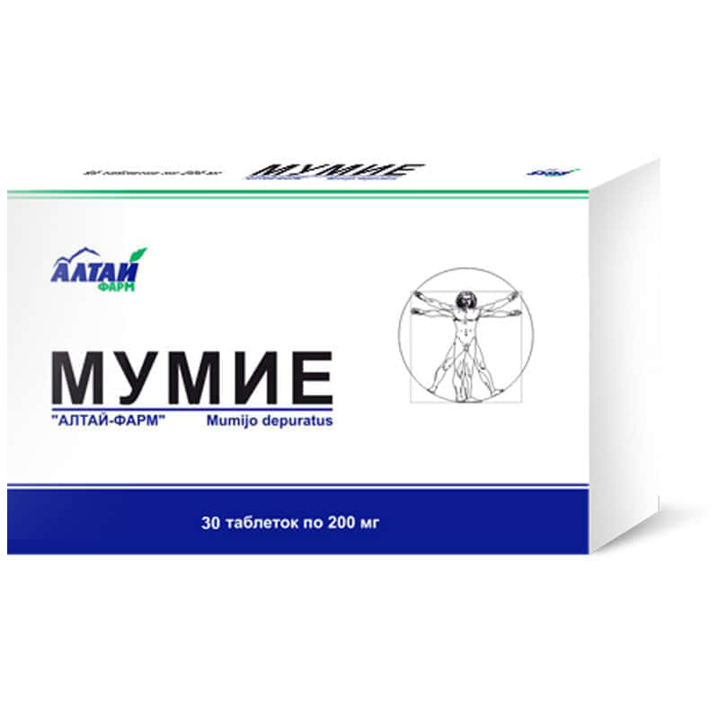 мумие в таблетках применение для потенции