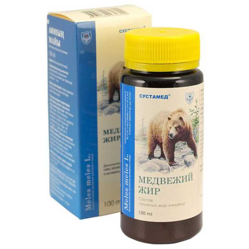 Медвежий жир инструкция по применению